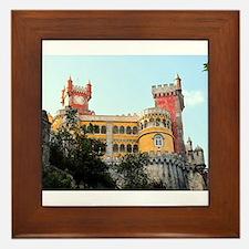 Pena Palace, Sintra, near Lisbon, Port Framed Tile