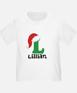 Christmas Santa Hat L Monogram T-Shirt