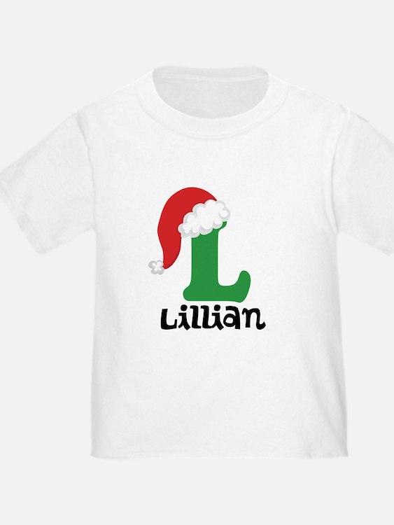 Christmas Santa Hat L Monogram T-Shirt