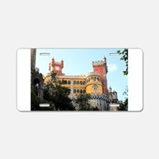 Pena Palace, Sintra, near L Aluminum License Plate