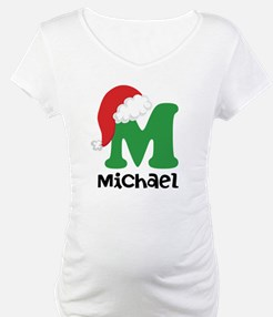 Christmas Santa Hat M Monogram Shirt
