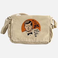 JFK Recipe Messenger Bag