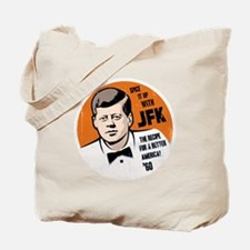 JFK Recipe Tote Bag