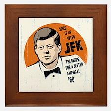 JFK Recipe Framed Tile