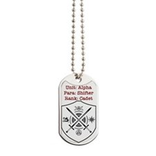 Bewitched And Bewildered Unit Alpha Dog Tags