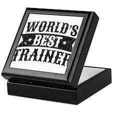 World's Best Trainer Keepsake Box