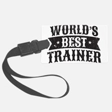 World's Best Trainer Luggage Tag