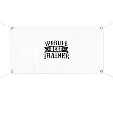 World's Best Trainer Banner