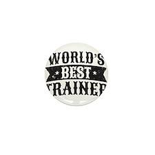 World's Best Trainer Mini Button