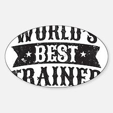 World's Best Trainer Decal