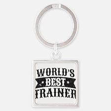 World's Best Trainer Keychains