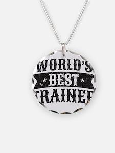 World's Best Trainer Necklace