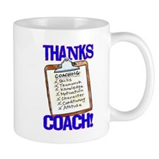 Play Strong Thanks Coach Clipboard Mugs
