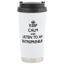 Unique Entrepreneurs Travel Mug