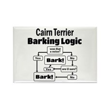 Cute Cairn terrier lover Rectangle Magnet