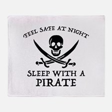 Sleep With A Pirate Stadium Blanket