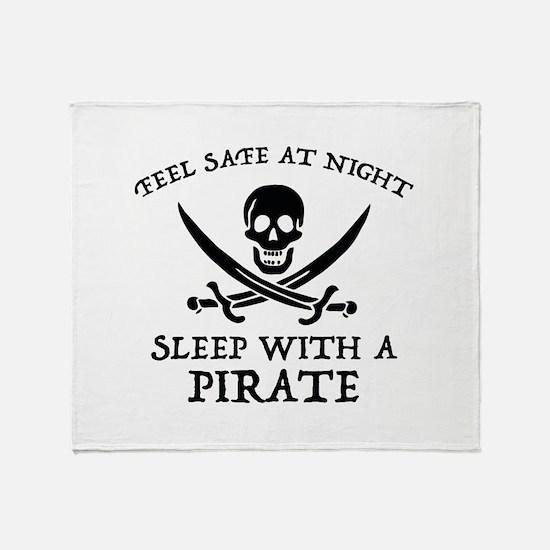 Sleep With A Pirate Stadium Blanket