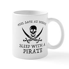 Sleep With A Pirate Small Mug