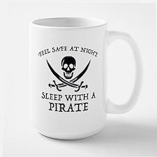 Sleep With A Pirate Large Mug