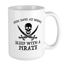 Sleep With A Pirate Mug