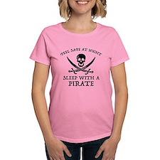 Sleep With A Pirate Tee