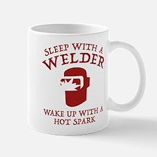 Sleep With A Welder Mug
