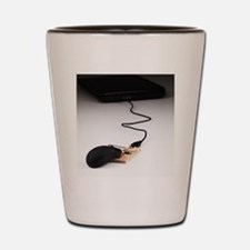 Computer Mouse Shot Glass