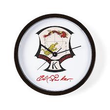 Ed Parker Sr. Kenpo Karate. Wall Clock