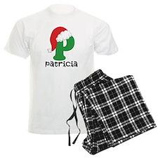 Christmas Santa Hat P Monogram Pajamas