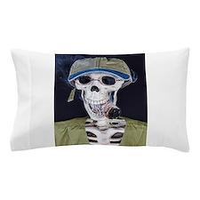 Skinny Skeleton Pillow Case