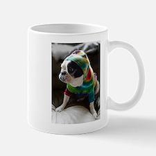 French Bulldog in Hoodie Mugs