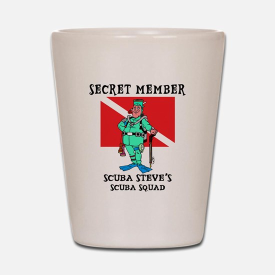 scuba13.png Shot Glass