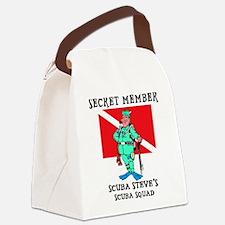 scuba13.png Canvas Lunch Bag
