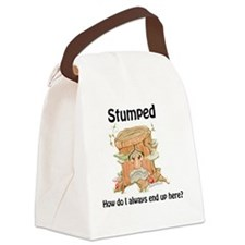 Cute Why am i covered feathers Canvas Lunch Bag