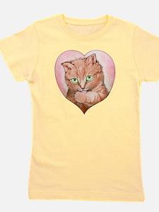 Orange cats Girl's Tee