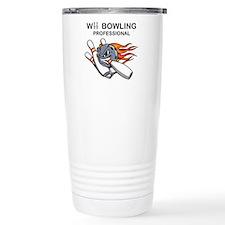 Unique Bowling logo Travel Mug