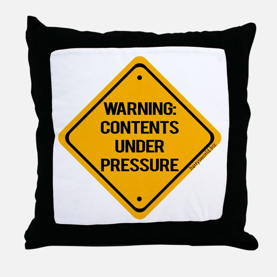 Pressure Throw Pillow