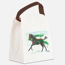 Naughty or Nice Canvas Lunch Bag