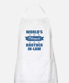 World's Okayest Brother-In-Law Apron