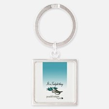 It's a Twilight Thing Square Keychain
