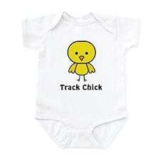 Track Chick Infant Bodysuit