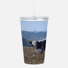 Cows in a Cornfield Acrylic Double-wall Tumbler