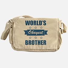 World's Okayest Brother Messenger Bag