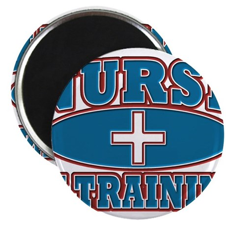 "Nurse In Training Student 2.25"" Magnet (100 pack)"