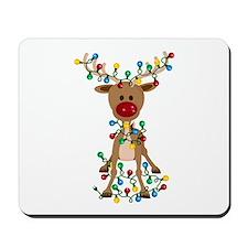 Adorable Christmas Reindeer Mousepad