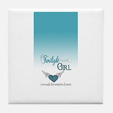 Twilight Girl Tile Coaster