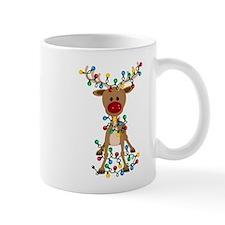 Adorable Christmas Reindeer Mugs