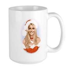 Sharon Tate Santa MugMugs