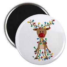 Adorable Christmas Reindeer Magnets