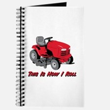 This Is How I Roll Mower Journal